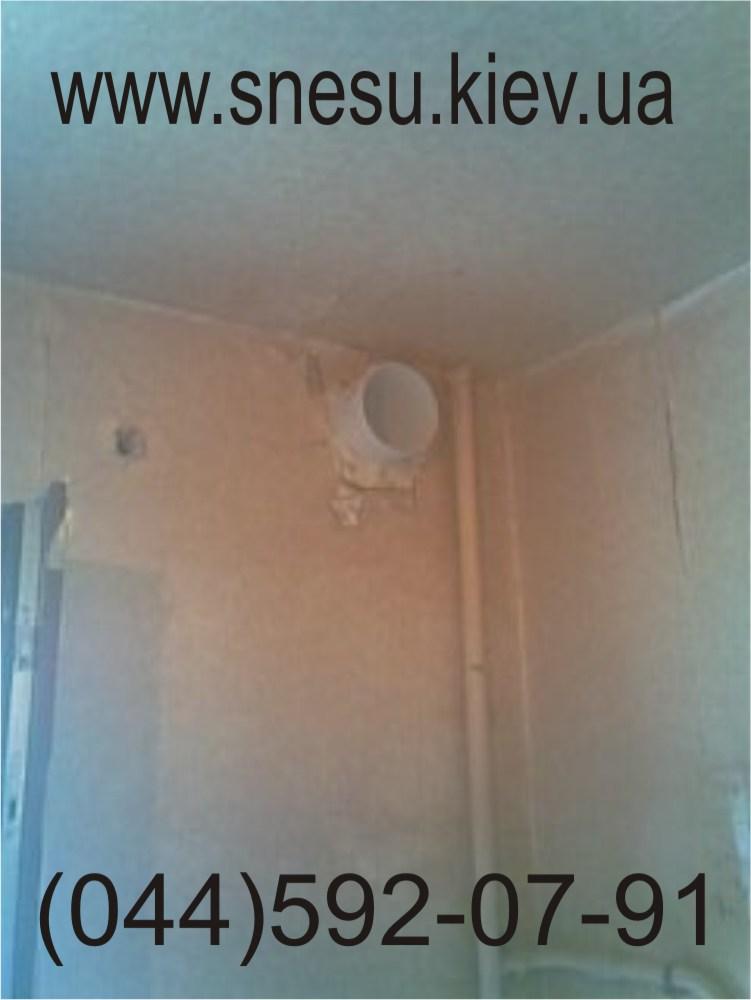 Как сделать вытяжку на кухне в стену