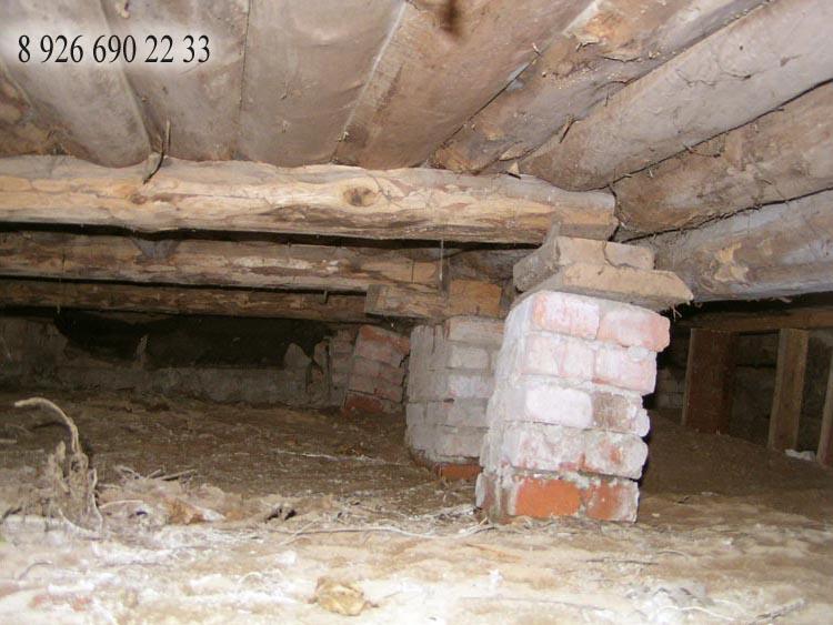 Деревянный дом ремонт своими руками