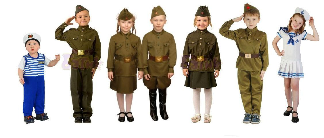 Как сделать костюм солдата ребенку